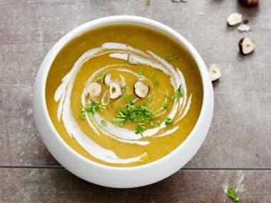 Courges, butternut, potimarron : nos recettes faciles de soupes