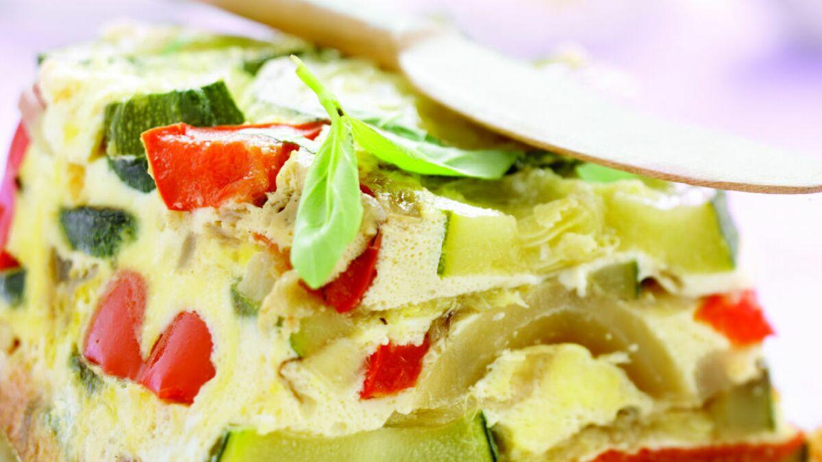 Flan de légumes à la provençale