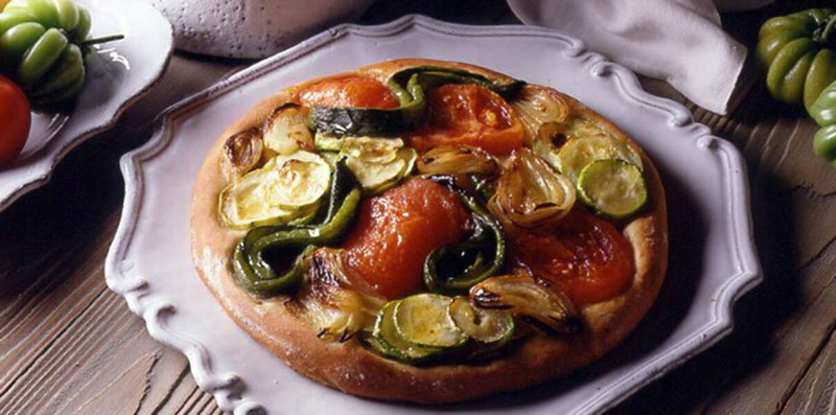 Tourte à la ratatouille