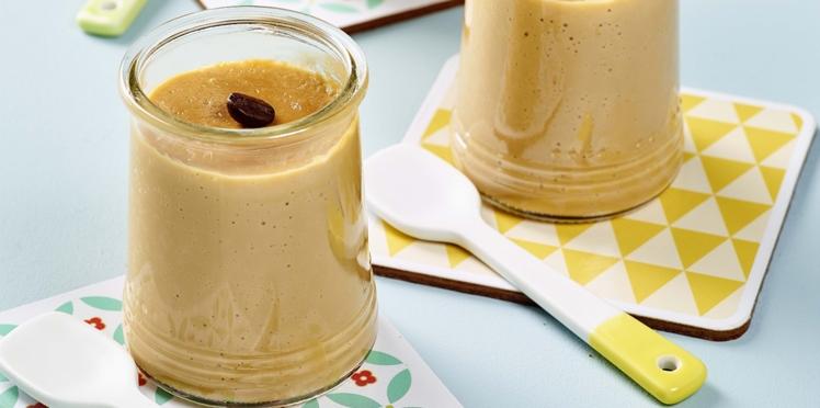 Petits pots de crème café