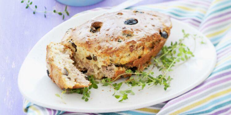 Cake thon-olives