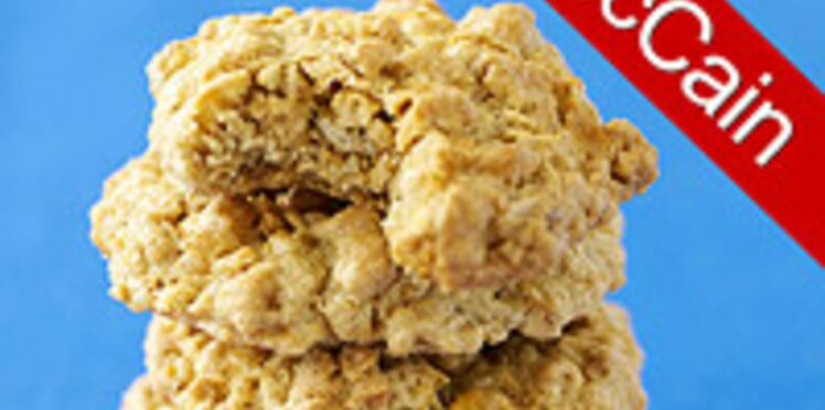 Biscuits à l'avoine et aux pépites de caramel de Cindy McCain