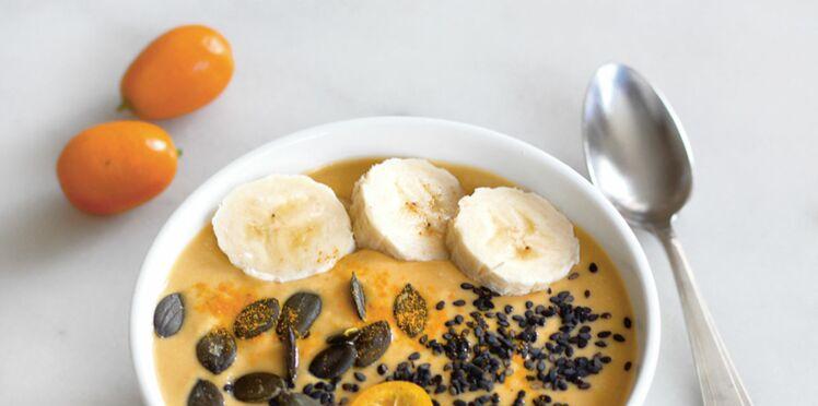 Smoothie banane-carotte