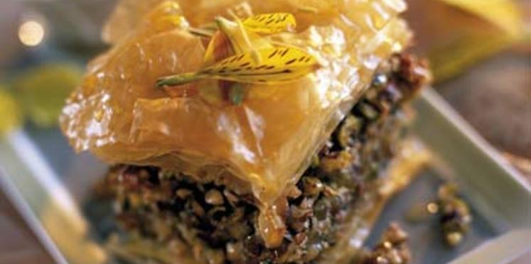 Baklaoua aux noix
