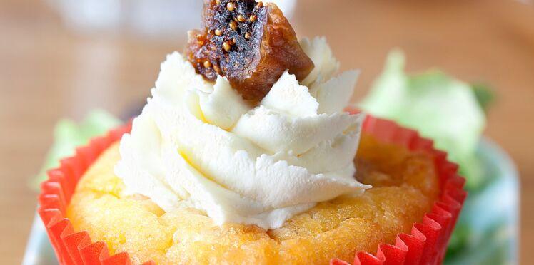 Cupcake au grogonzola et aux figues (Mamma Mia)