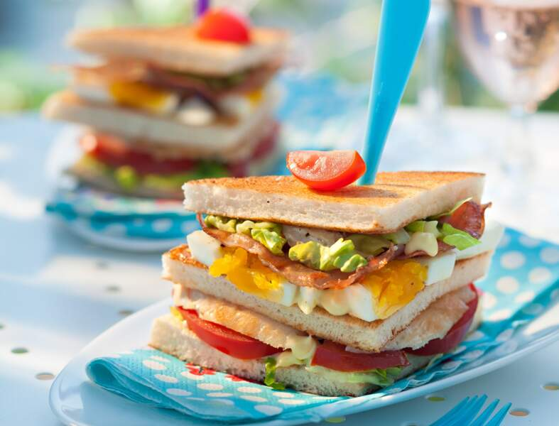 The club sandwich