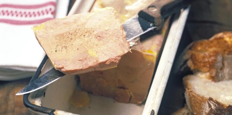 Terrine de foie gras mi cuit