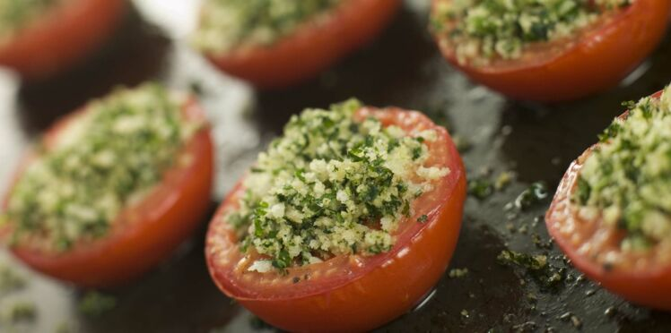 Tomates à la provencale au four