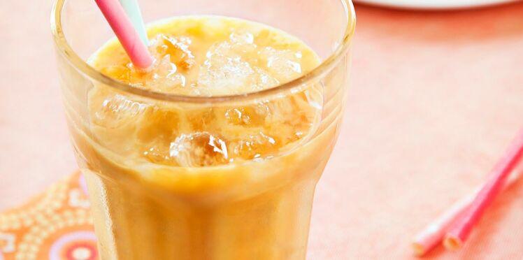 Smoothie Ricoré au lait mangue-fleur d'oranger