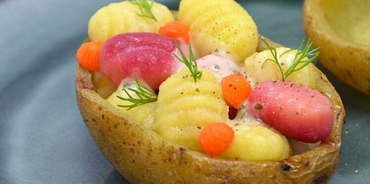 Gnocchi à la mimolette
