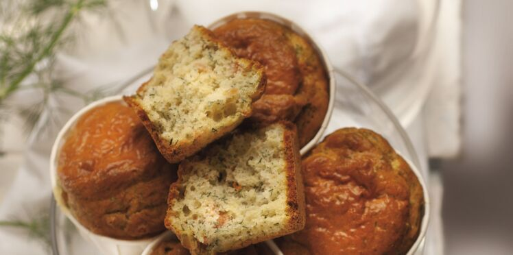 Muffin au saumon fumé