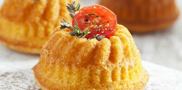 Cake au thon et à la tomate