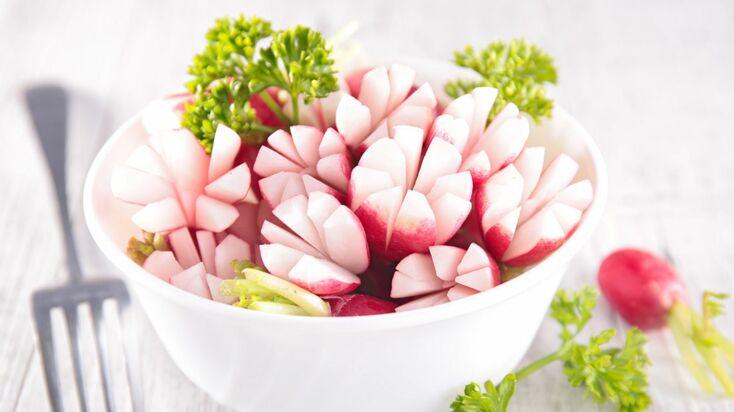 Fleurs de radis