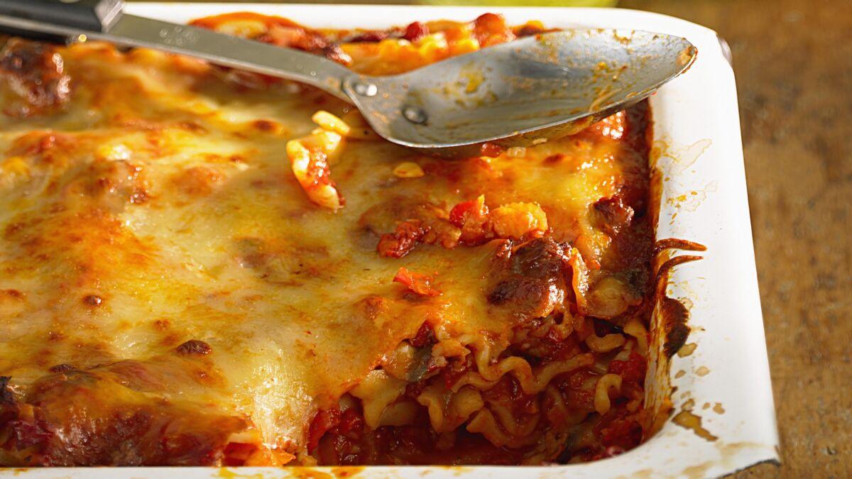 Lasagne Bolognaise maison