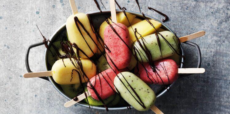 Bâtonnets glacés au yaourt