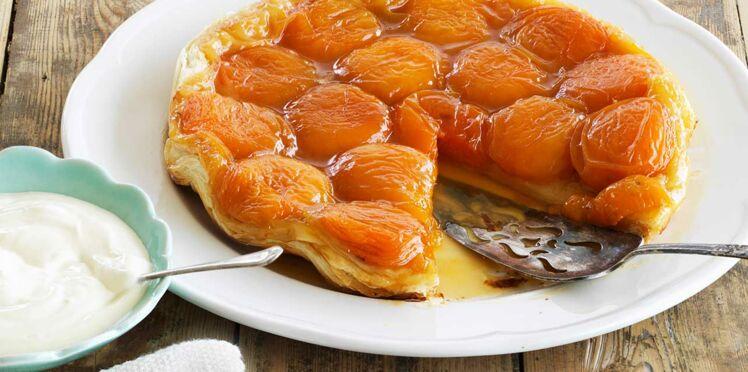 Tarte Tatin aux abricots