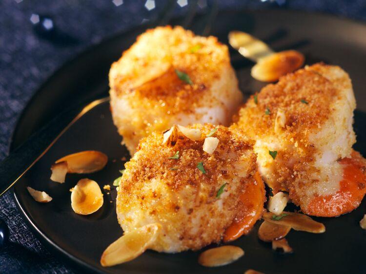 Noix de Saint-Jacques panées : découvrez les recettes de cuisine de Femme Actuelle Le MAG