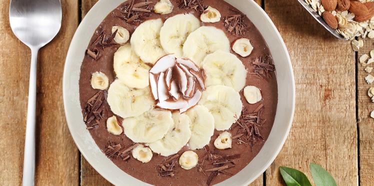 Smoothie bowl au chocolat
