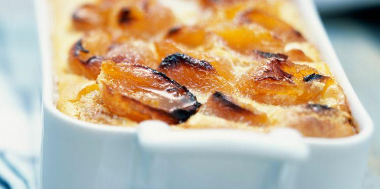Biscuit soufflé aux abricots