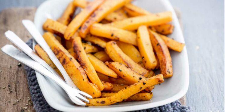 Frites de Butternut au poivre anisé