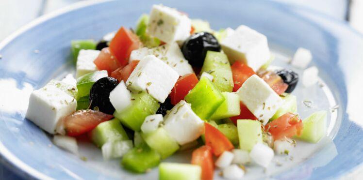 Salade grecque à l'origan