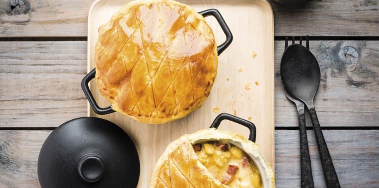 Raclette en cocotte lutée