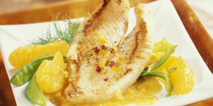 Filets de Saint-Pierre au beurre d'orange