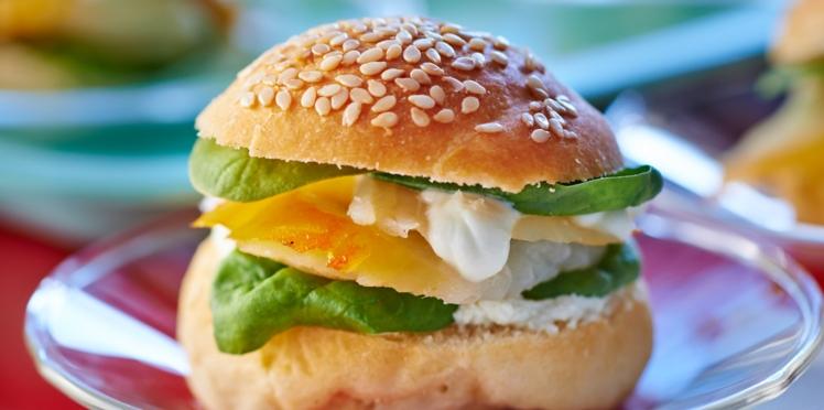 Mini-buns au haddock