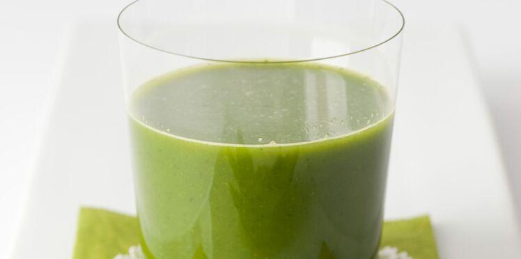 Recette acido-basique : jus aux épinards et à l'orange