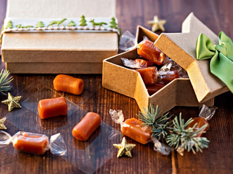 Caramels au beurre salé : découvrez les recettes de cuisine de Femme Actuelle Le MAG