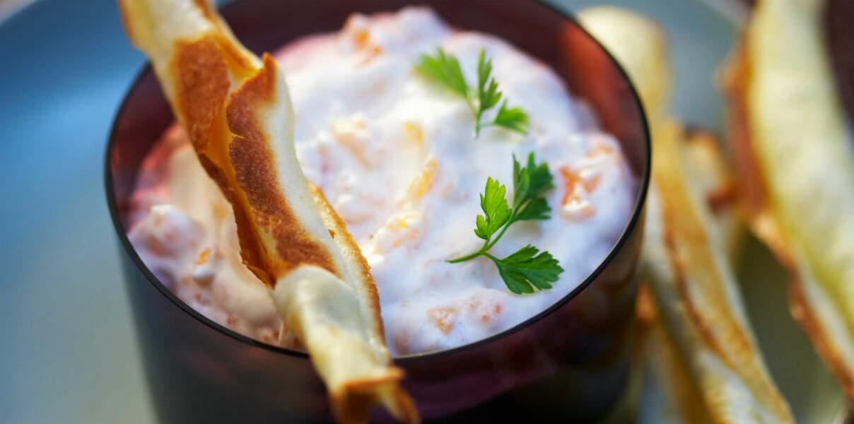 Crème de haddock au fromage blanc