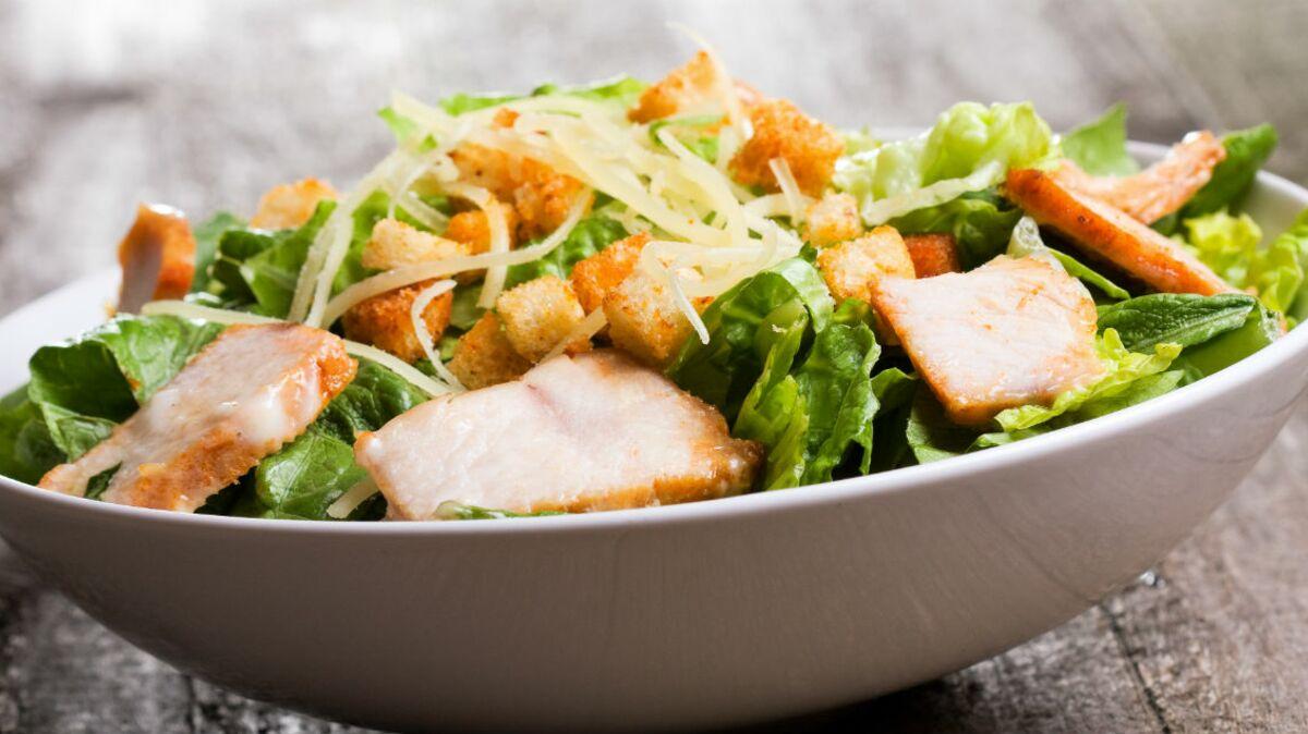Salade César Paléo