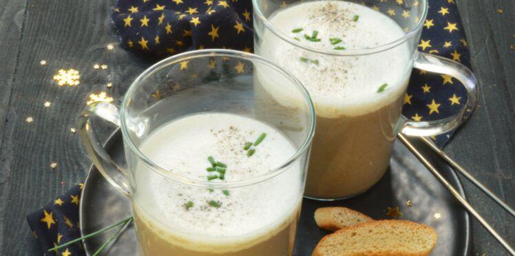 Cappuccino de champignons