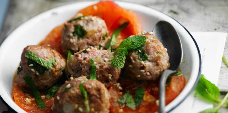 Boulettes de viande à l'algérienne