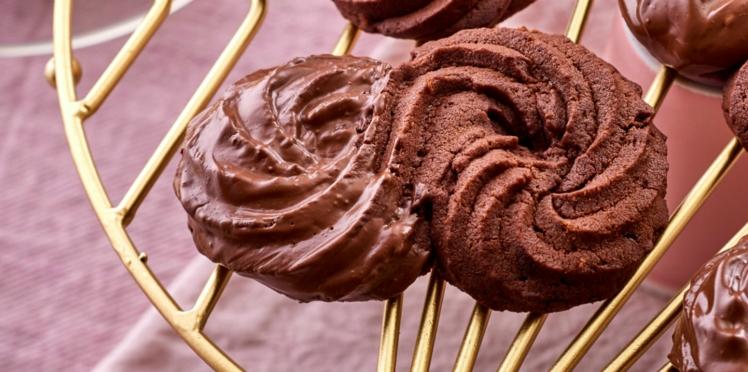 Sablés viennois tout chocolat