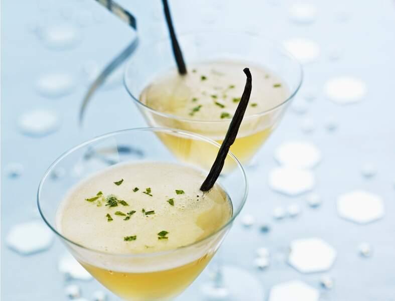 Cocktail de fête pour le Capricorne : mojito vanille-citron