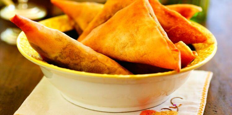 Briouats de kefta à la marocaine