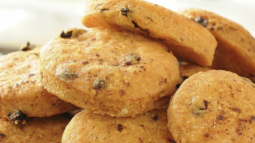 Cookies au parmesan et tomates séchées