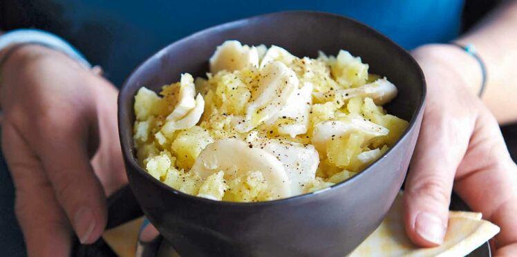 L'écrasée de pommes de terre à la morue