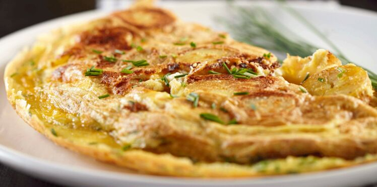 Omelette de Rattes du Touquet