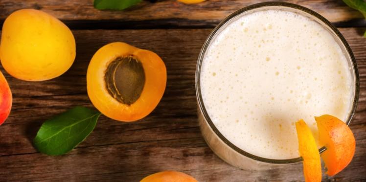 Abricots au lait d'amande