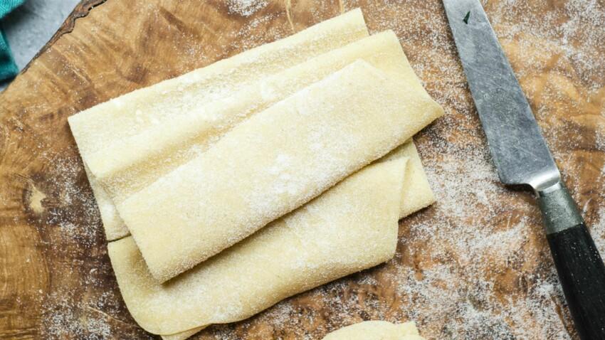 Notre recette facile de pâte à lasagnes