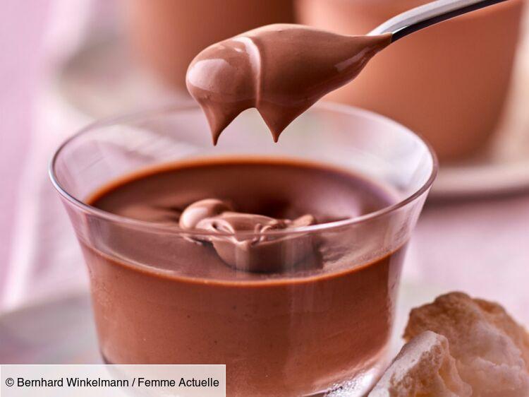 Petits pots de crème au chocolat ultra-crémeuse : découvrez les recettes de cuisine de Femme Actuelle Le MAG