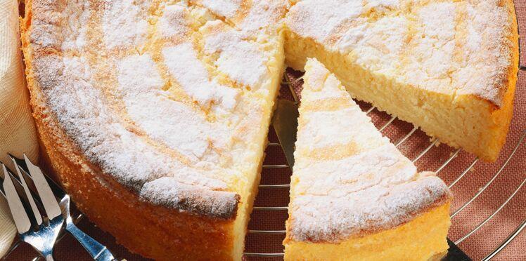 Gâteau sucré à la pommes de terre