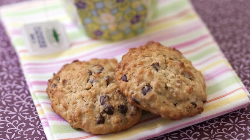 Cookies petit déj banane-choco-flocon d'avoine : découvrez les recettes de  cuisine de Femme Actuelle Le MAG
