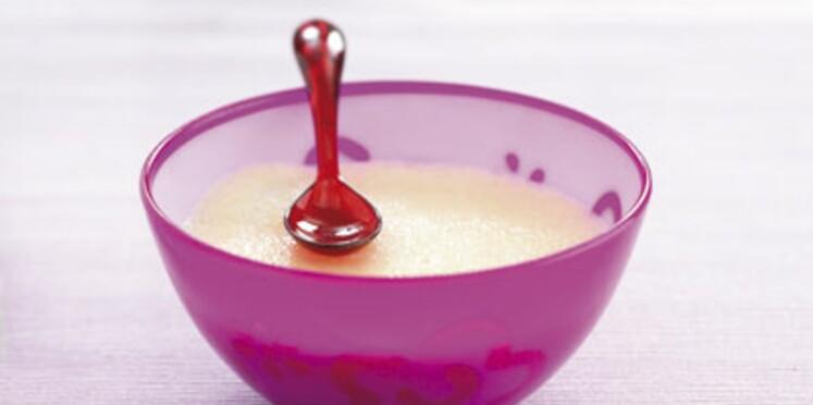 Des recettes à base de lait pour bébé