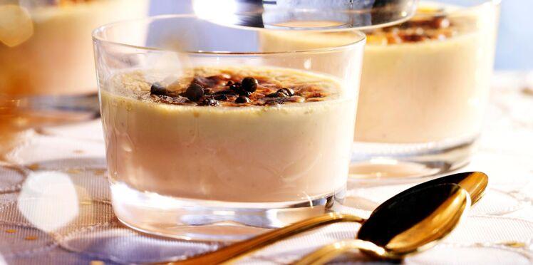 Crèmes de foie gras caramélisées au gingembre