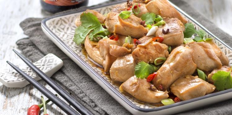 Poulet sauté au poivre de Sichuan