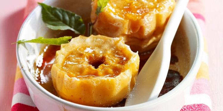Pommes au four au beurre demi-sel et cidre