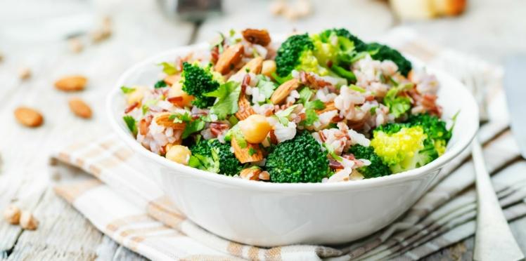 Salade en duo brocoli et bacon